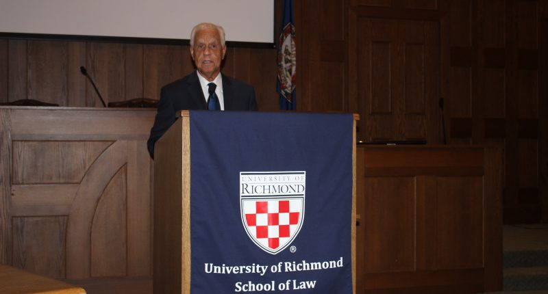 Wilder at Univ. of Richmond
