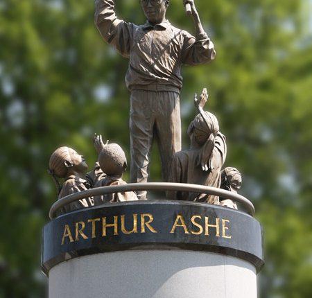 Arthur Ashe Monument