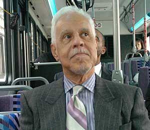 Governor Wilder on Richmond Bus