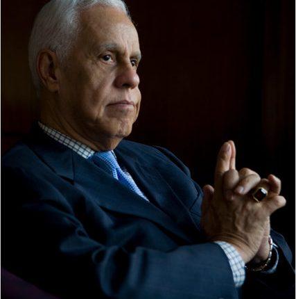 Governor Wilder in Dark Blue Suit