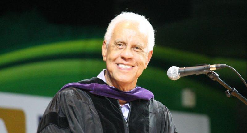 Wilder Speaking at Graduation